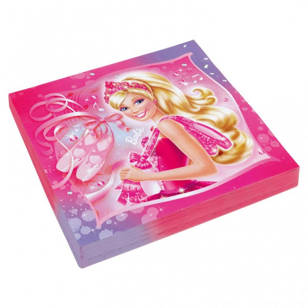 Image of   Barbie servietter