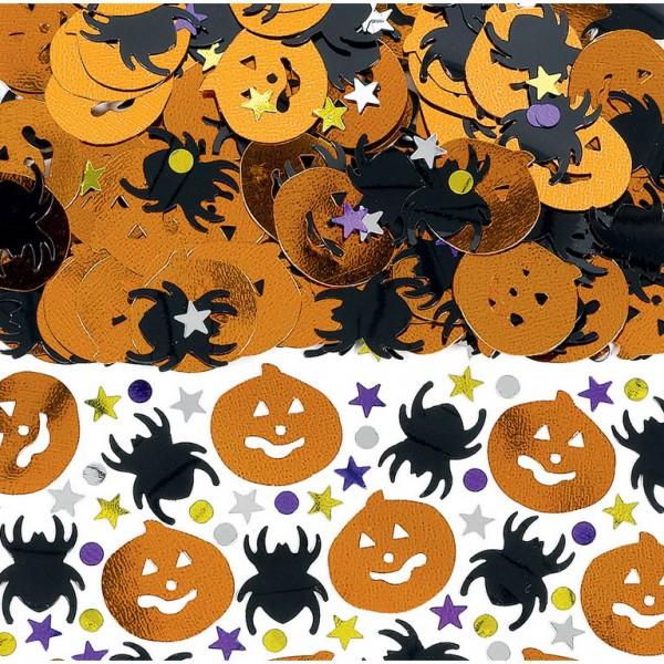 Billede af Halloween Konfetti Græskar