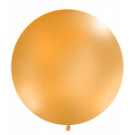 Kæmpeballon - pastel - orange