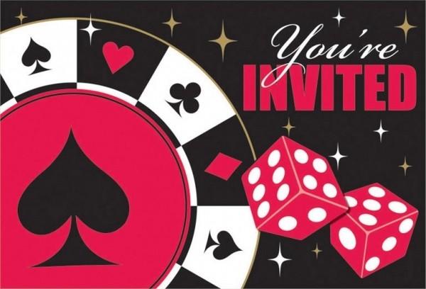 Billede af Las Vegas invitationer