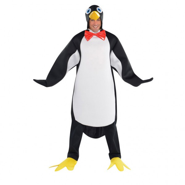 Image of   Pingvin kostume: Størrelse - XXL