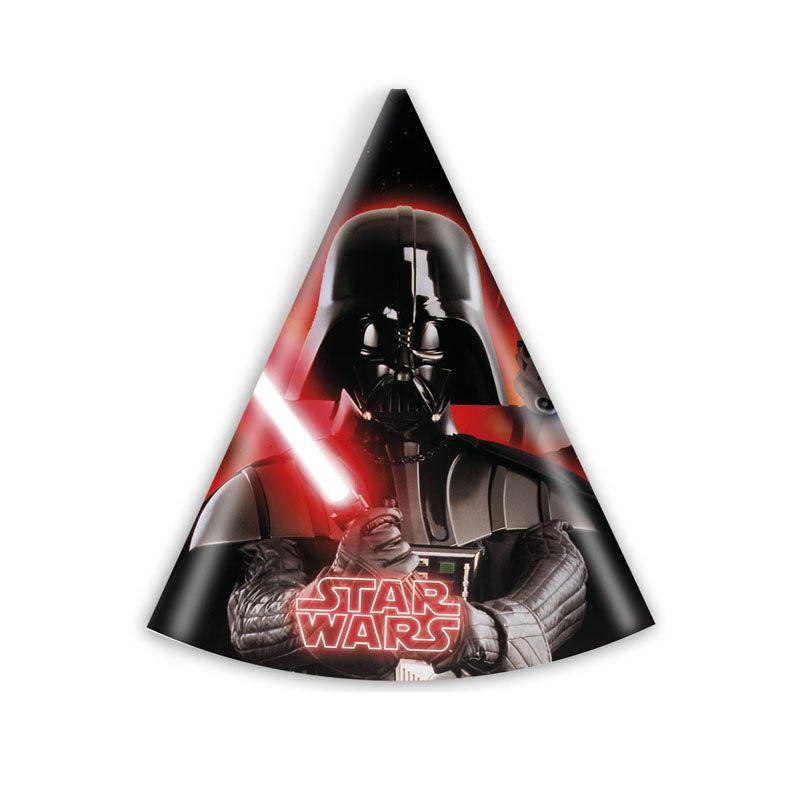 Billede af 6 Stk. Star Wars party hat