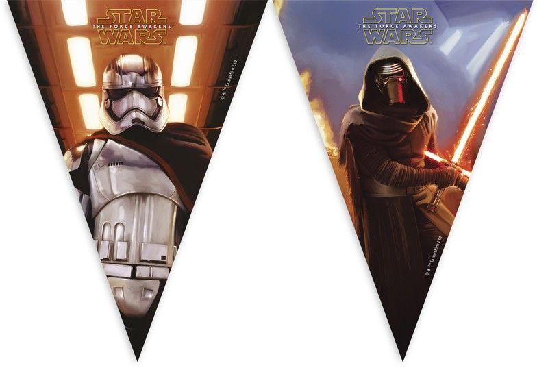 Billede af Star Wars flag banner