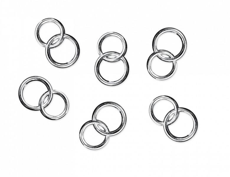 Billede af Sølv ringe - Konfetti