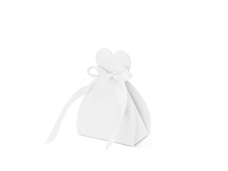 Gaveæske hvid kjole - 10 Stk.