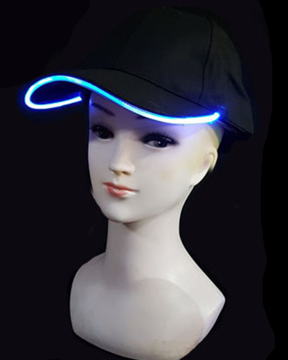 Billede af LED Cap - Blå