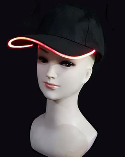 Billede af LED Cap - Rød