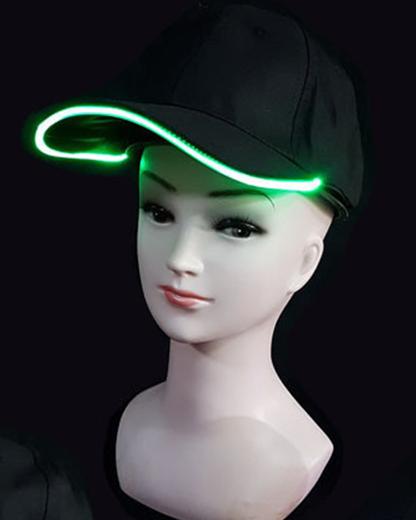 Billede af LED Cap - Grøn