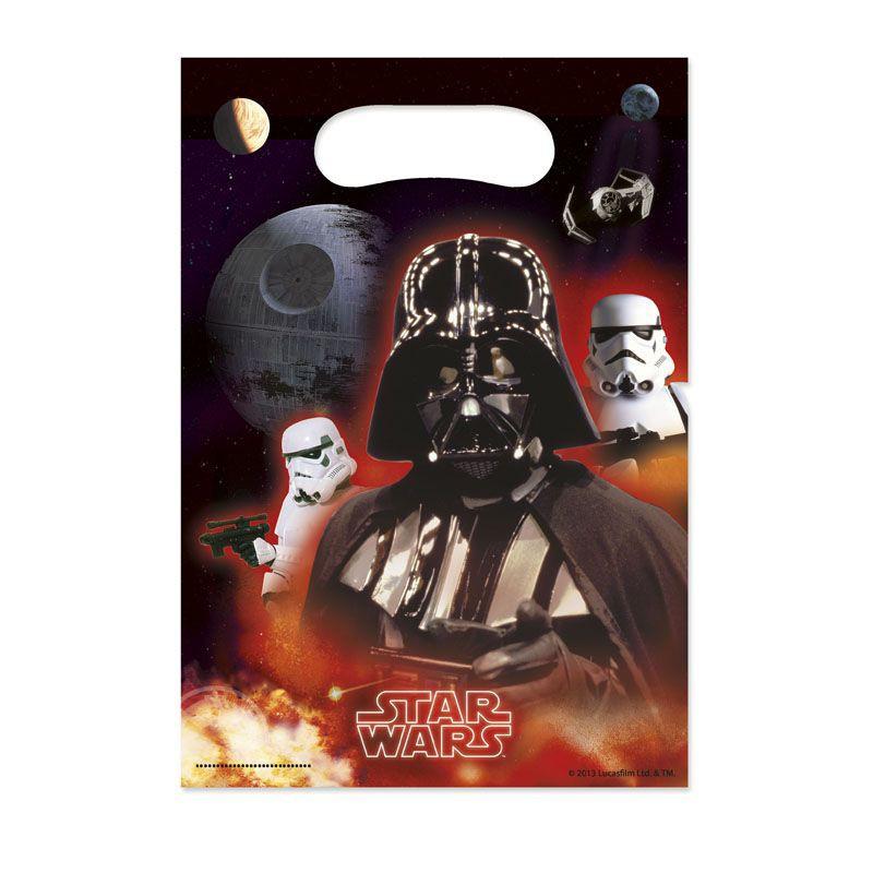 Billede af 6 Stk. Star Wars Retro slikposer