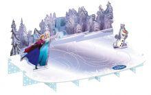 Billede af Frost kagestander, Anna, Elsa og Olaf