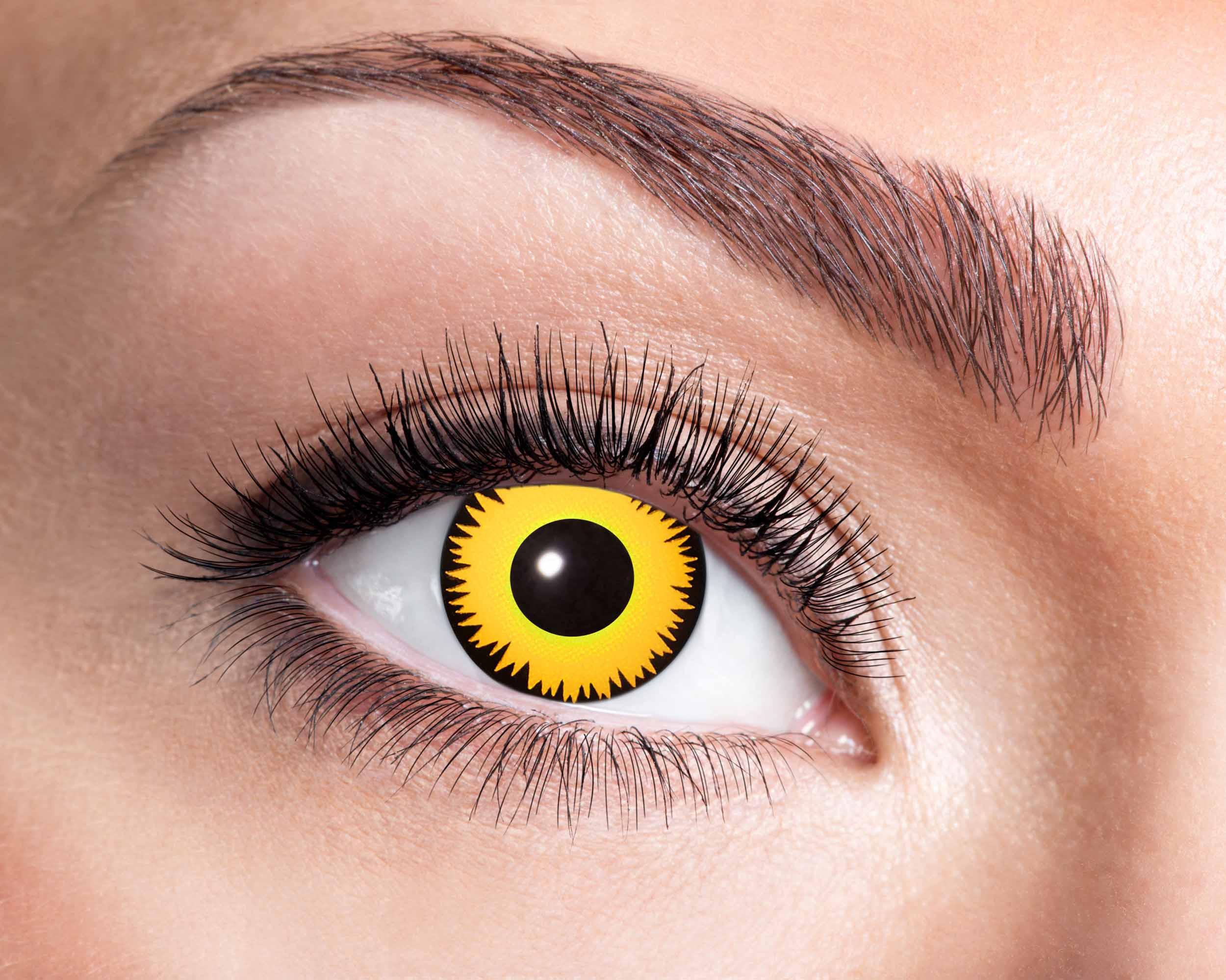 Billede af Løve kontaktlinser
