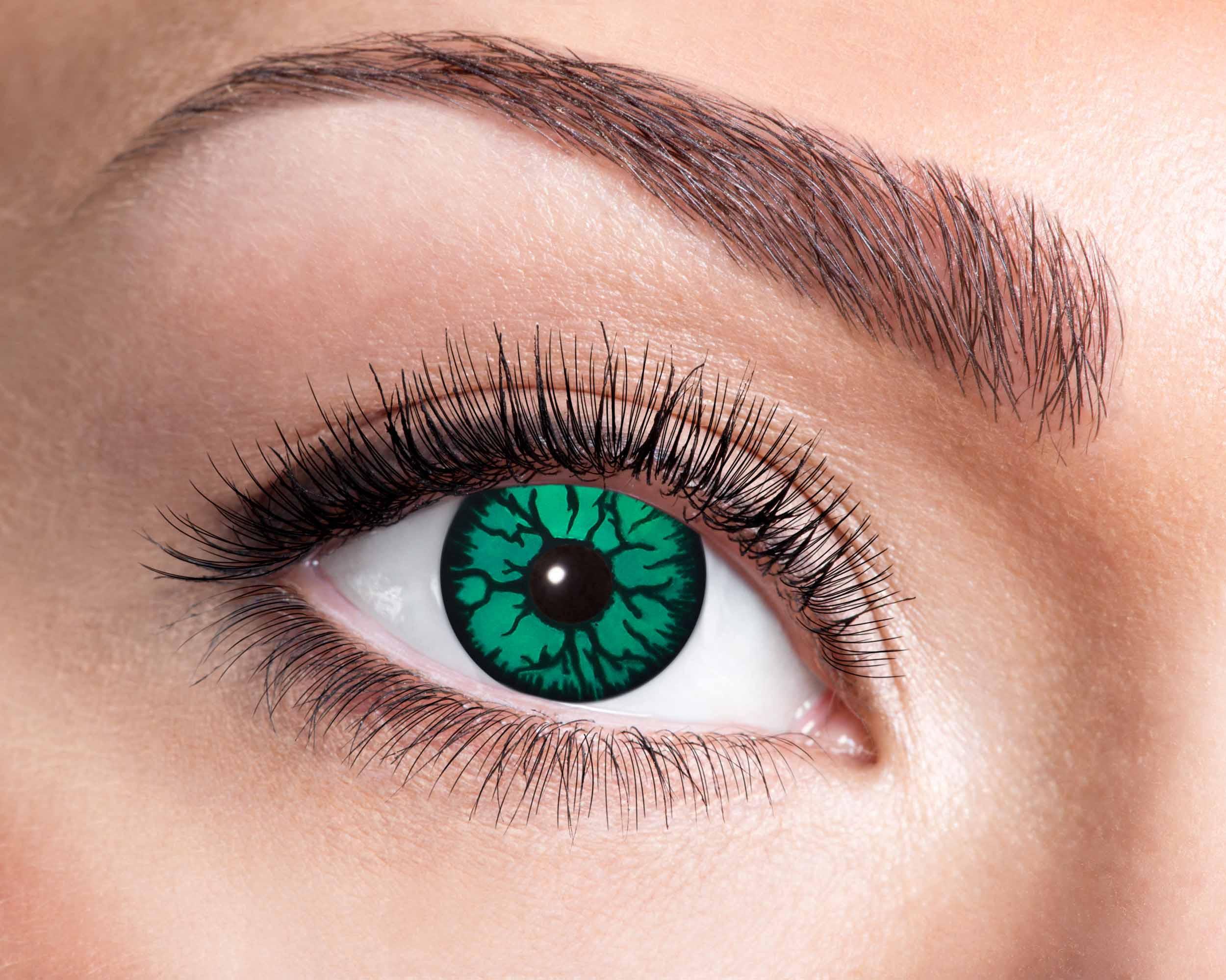 Monster kontaktlinser