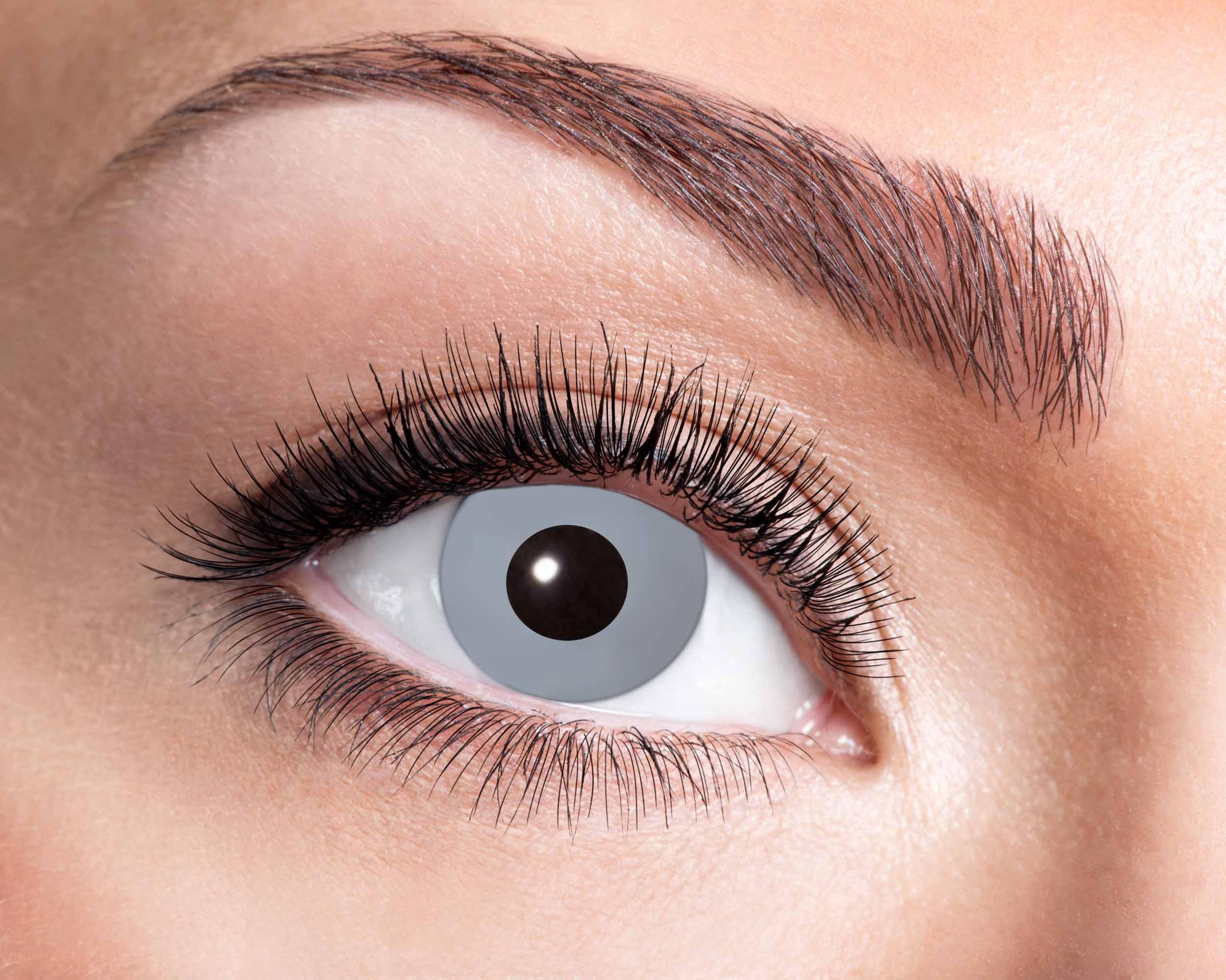 Billede af Vampyr grå kontaktlinser