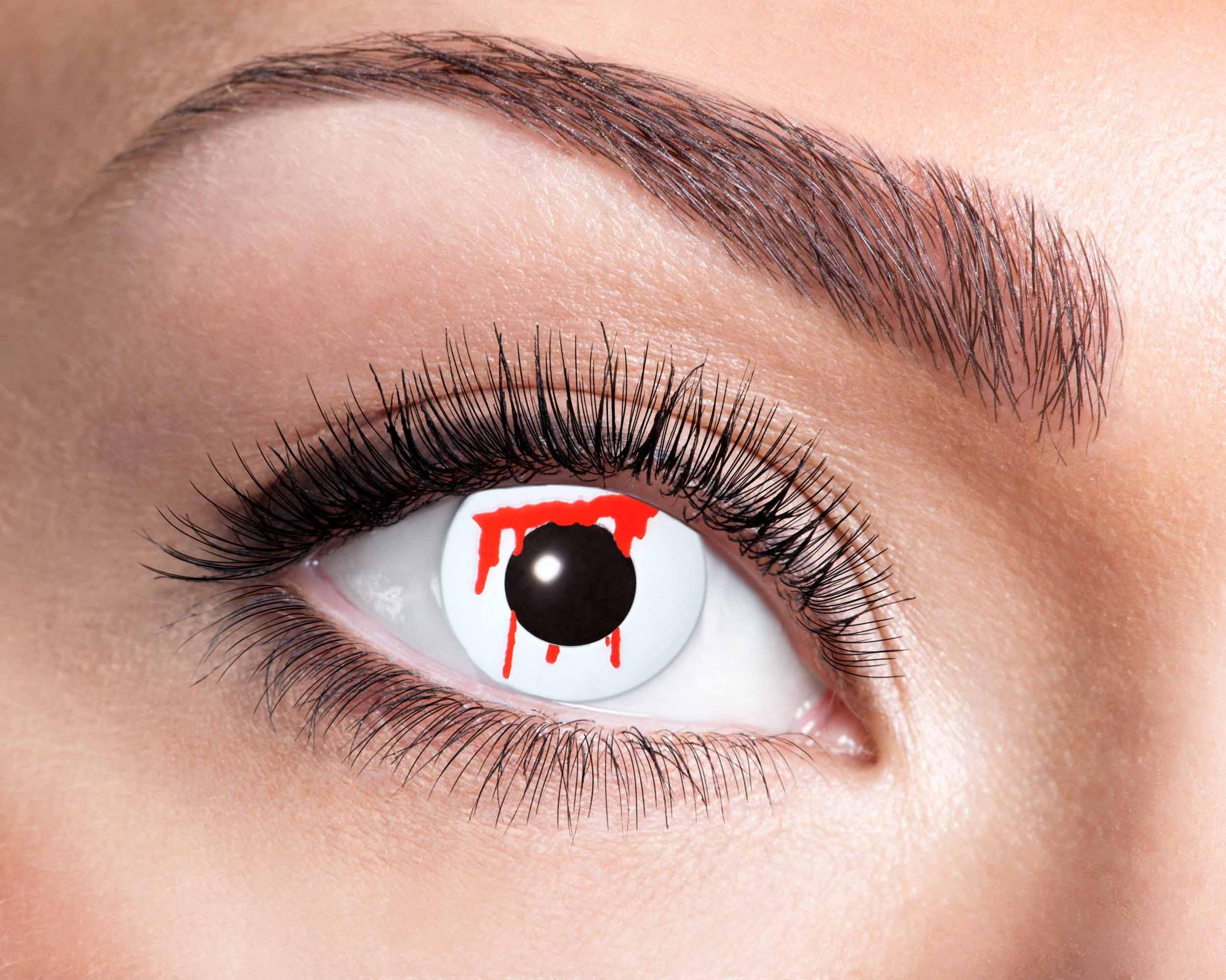 Billede af Blodstænk kontaktlinser