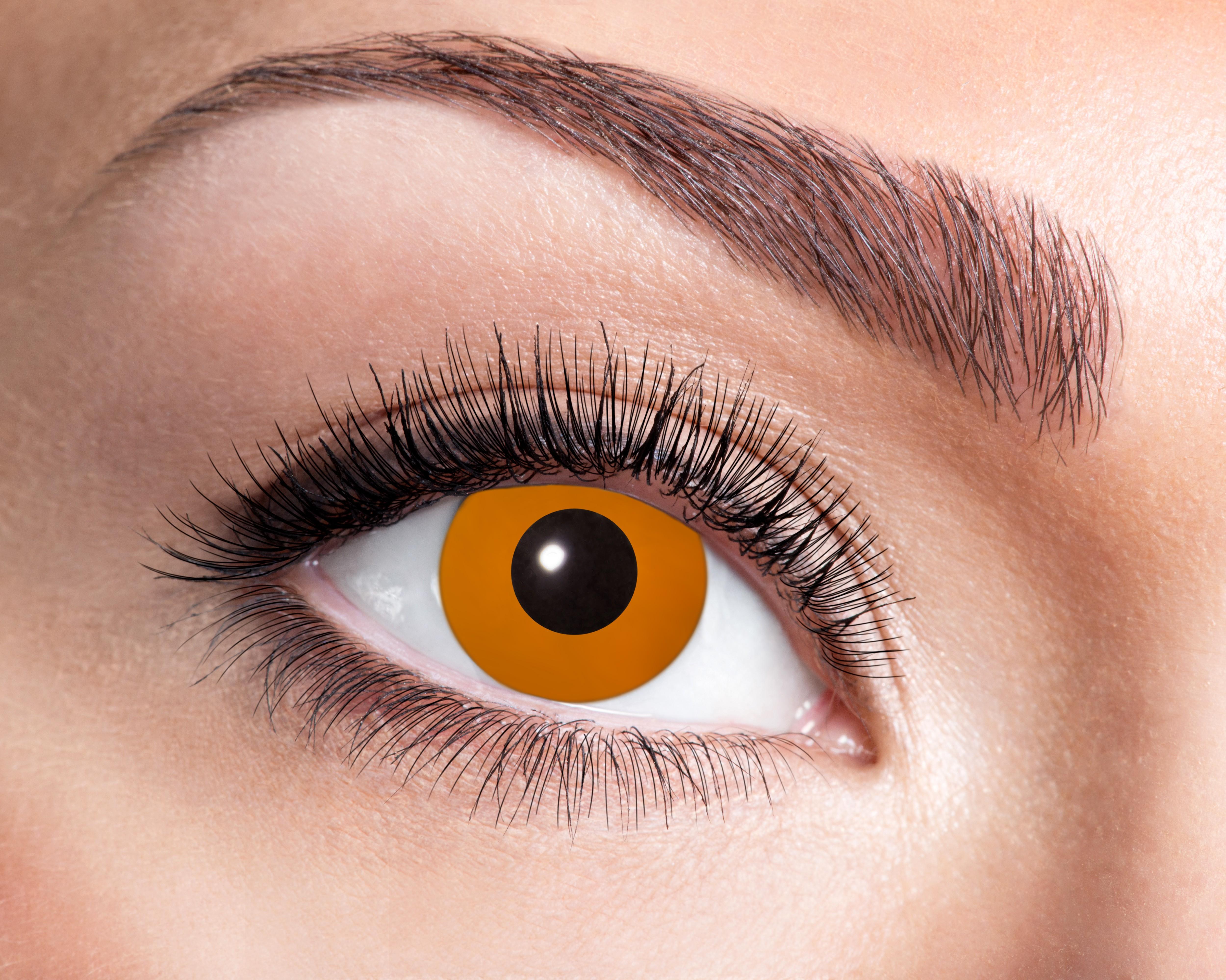 Orange Ultra Violet kontaktlinser