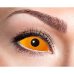 Orange sclera kontaktlinser