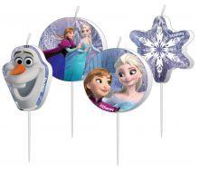 Billede af Frost figur lys med Anna, Elsa og Olaf
