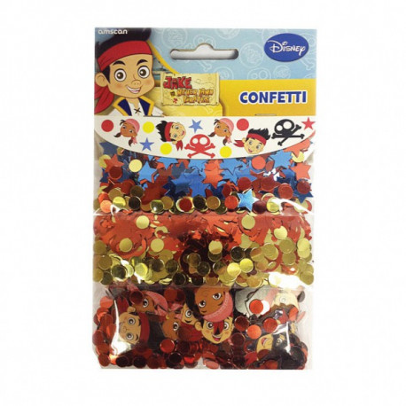 Jake og piraterne konfetti