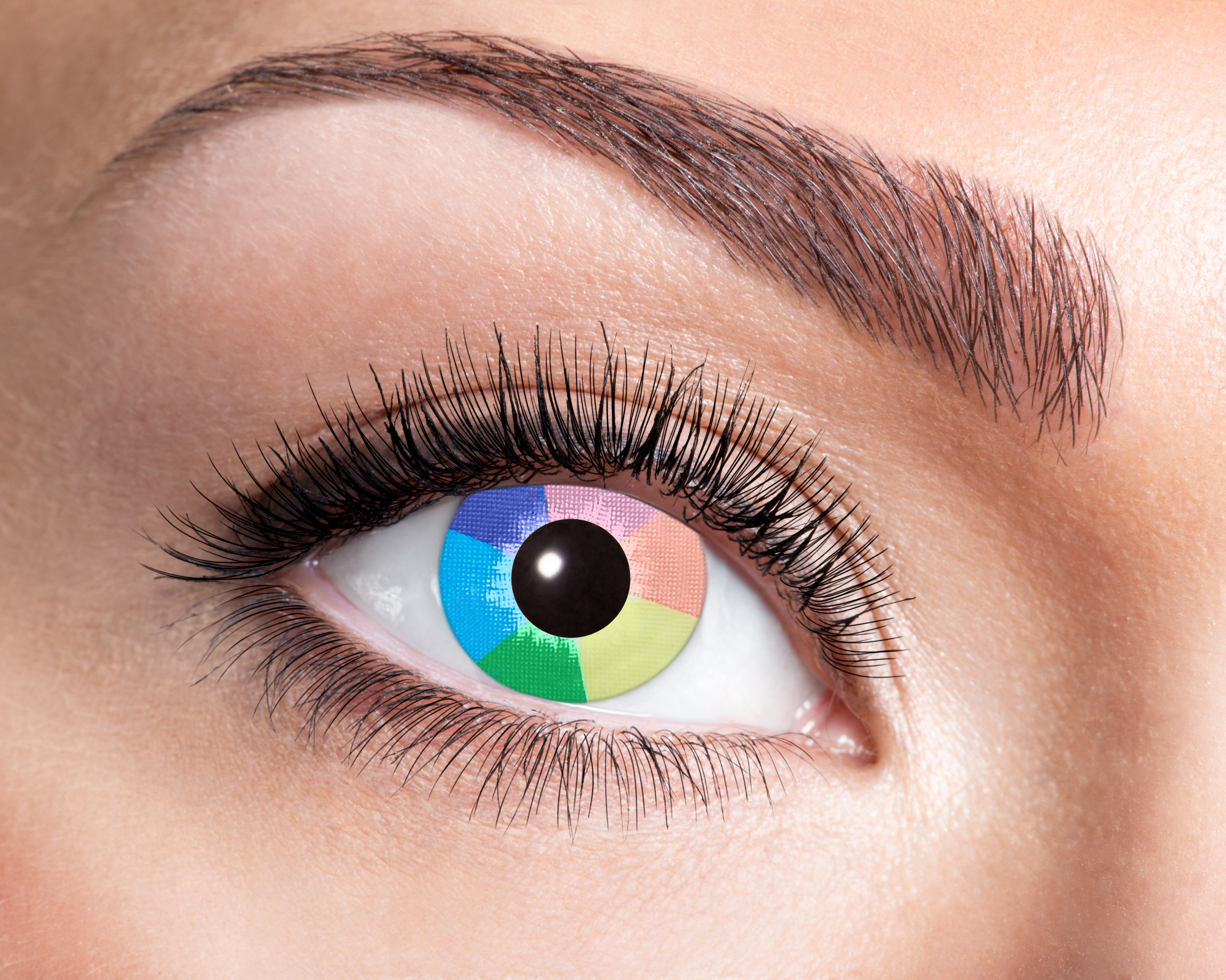 Regnbue Ultra Violet kontaktlinser