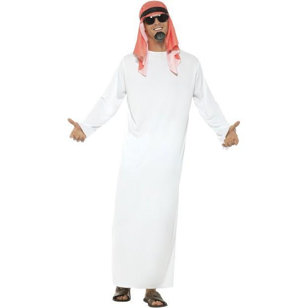 Image of   Arabisk sheik kostume: Størrelse - L