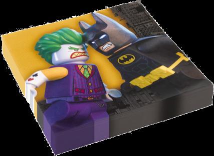 Billede af Batman - Lego servietter