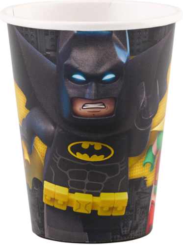 Billede af Batman - Lego engangskrus 8 stk.