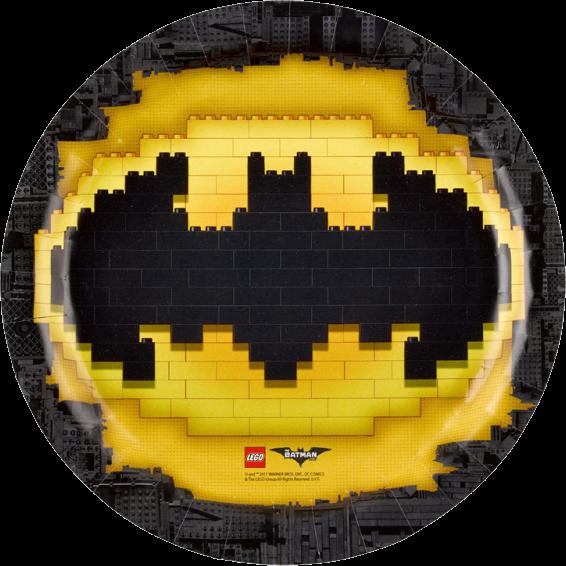 Billede af Batman - Lego paptallerkner
