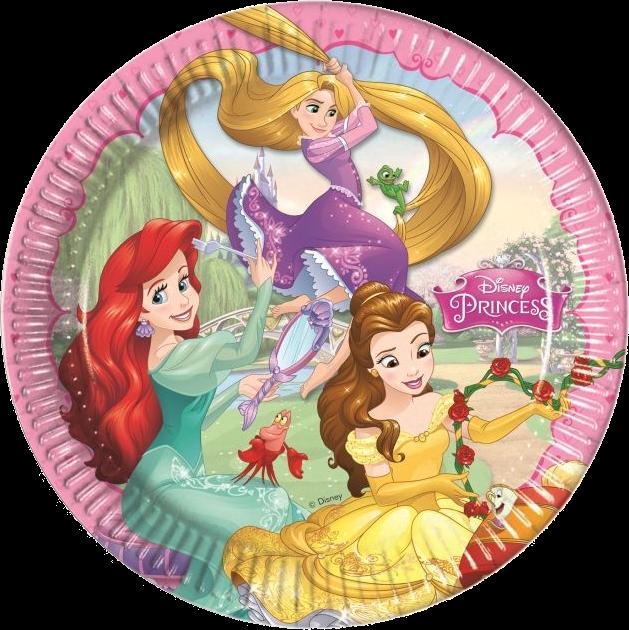 Billede af Disney Prinsesser paptallerkner