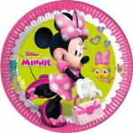 Minnie Happy Helpers pap tallerkner