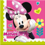 Minnie servietter - Pink