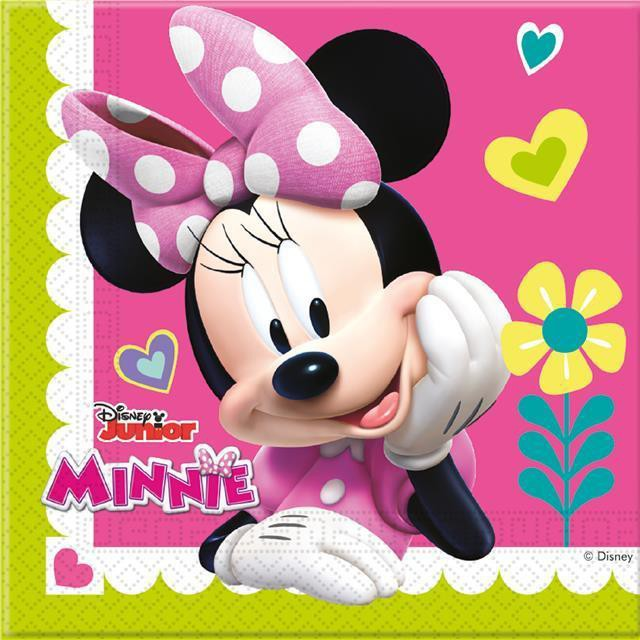Billede af Minnie servietter - Pink