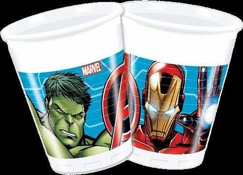 Billede af Avengers engangskrus