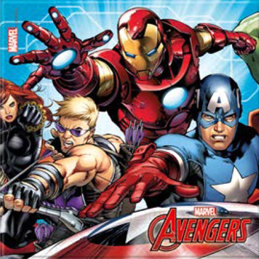 Billede af Avengers servietter - 20 stk.