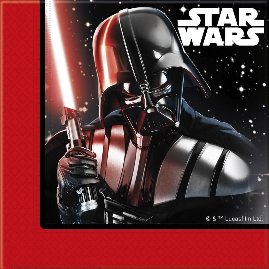 Billede af Star Wars Final Battle servietter