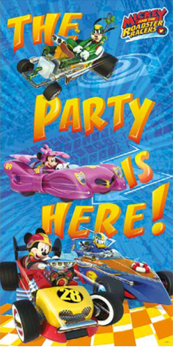 Image of   Mickey Mouse Ræs dør banner