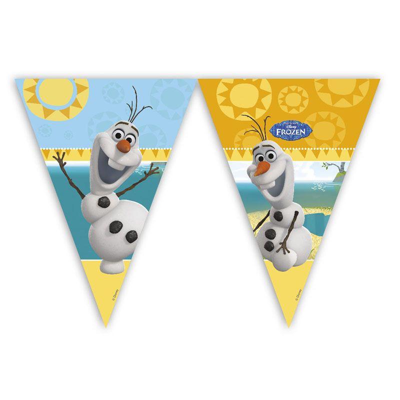 Billede af Frost flag banner, Olaf