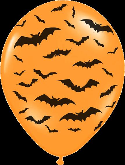 Billede af Halloween ballon - Flagermus
