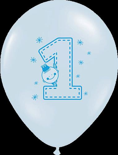 Billede af Første fødselsdag ballon - Dreng
