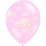 6 Stk. It's a Girl ballon