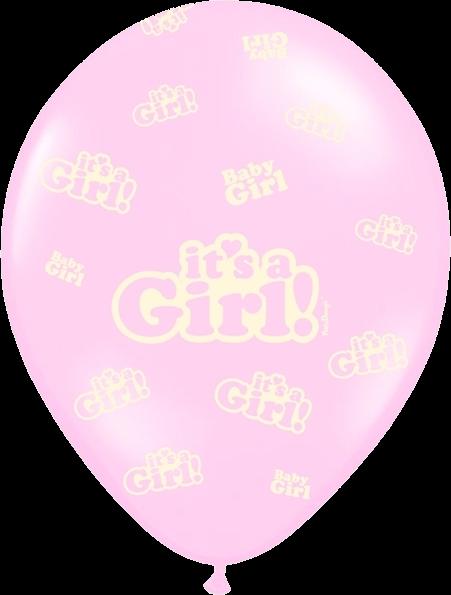 Billede af Its a Girl ballon