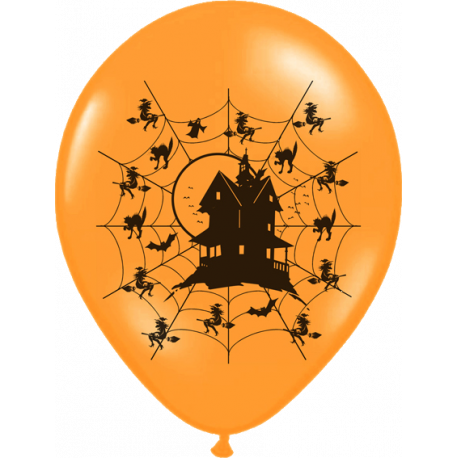 Halloween ballon - Haunted house