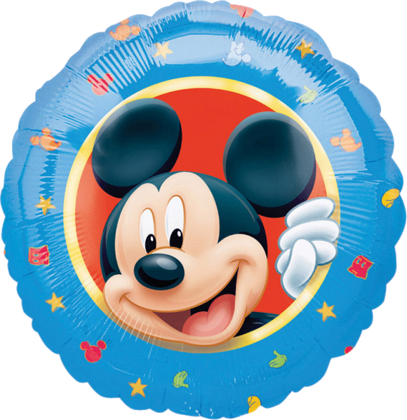 Image of   Mickey Mouse folie ballon