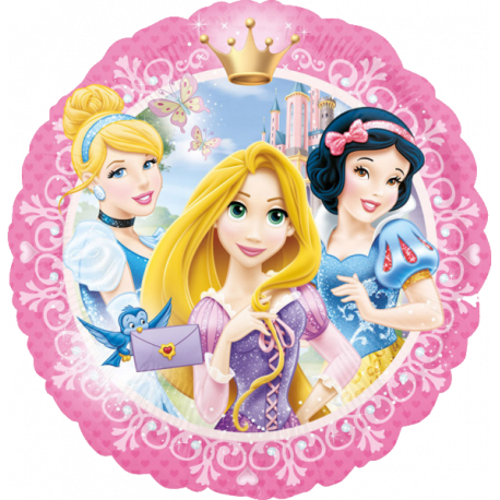 Disney Prinsesser oval folie ballon