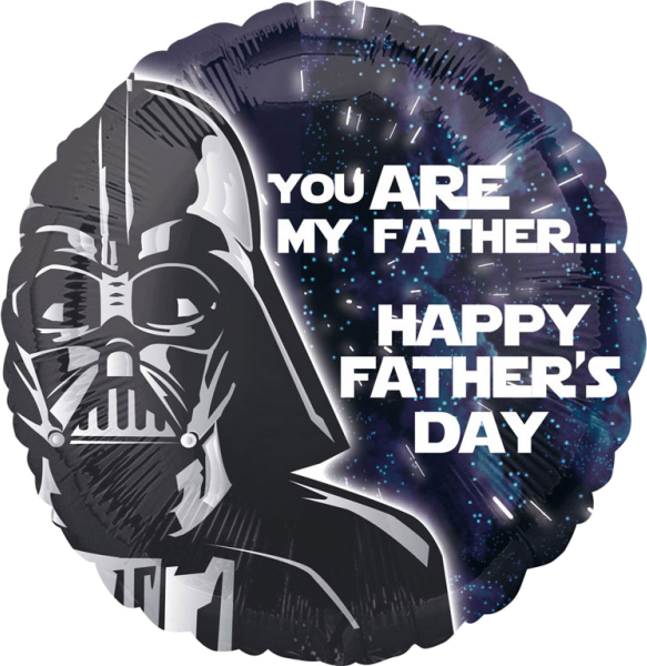 Image of   Darth Vader - Fars dag - folie ballon