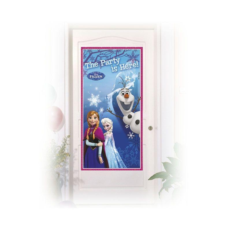 Billede af Frost dør banner, is dronning