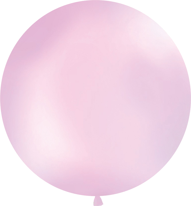 Billede af Lyserød kæmpe ballon (1 meter diameter)