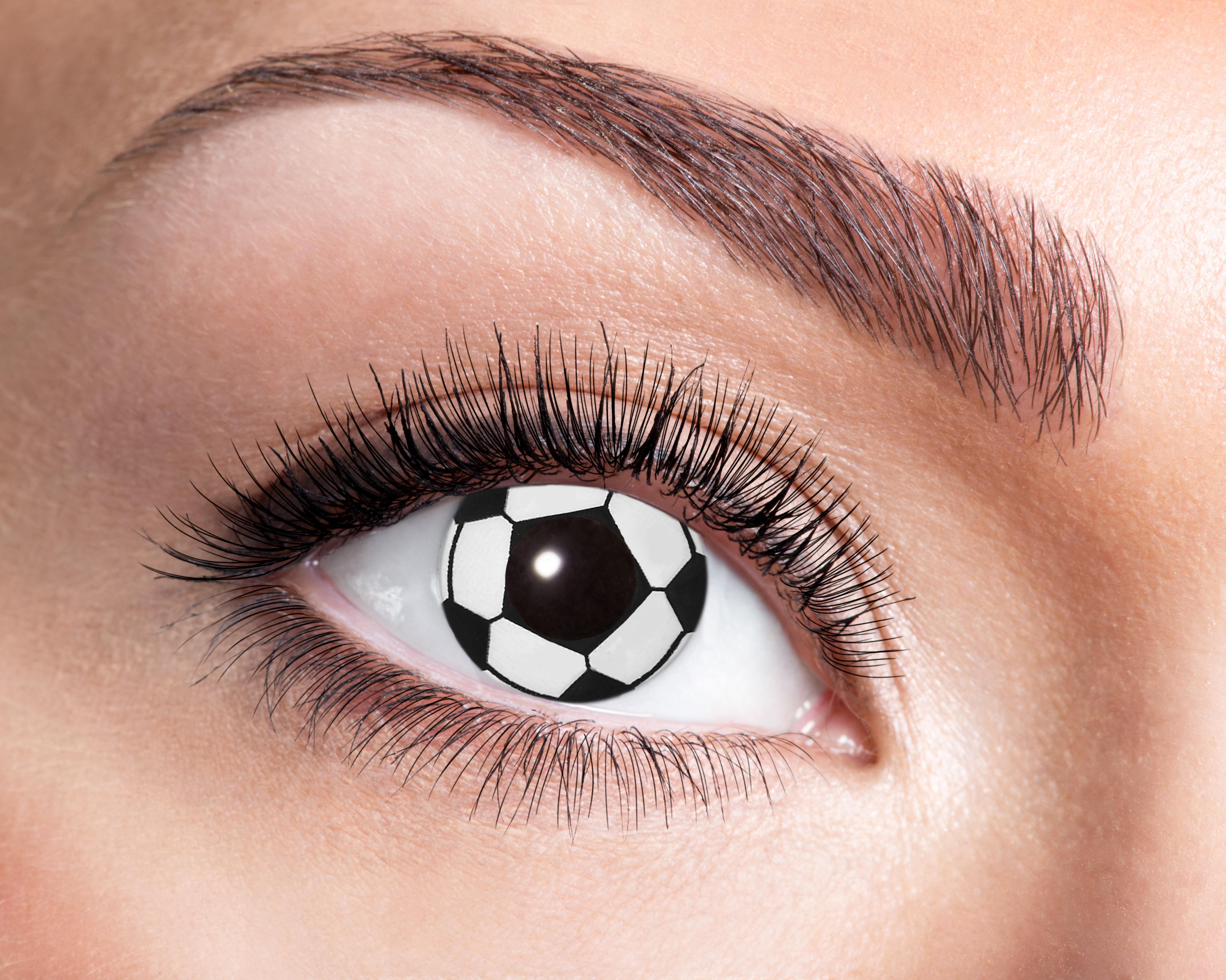 Billede af Fodbold kontaktlinser