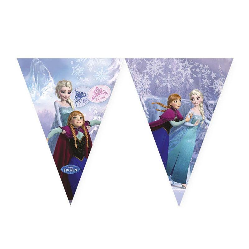 Billede af Frost flag banner, is dronning