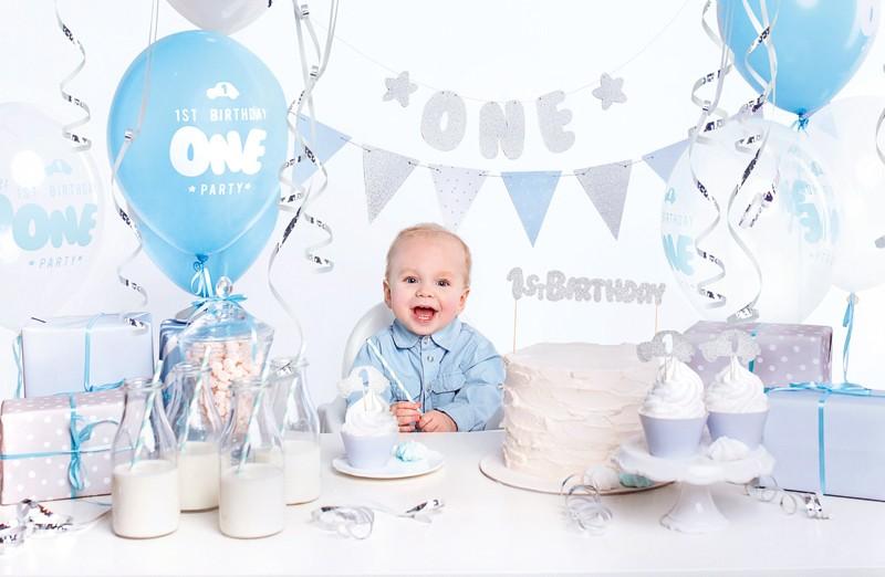 1 års drenge fødselsdag fest pakke