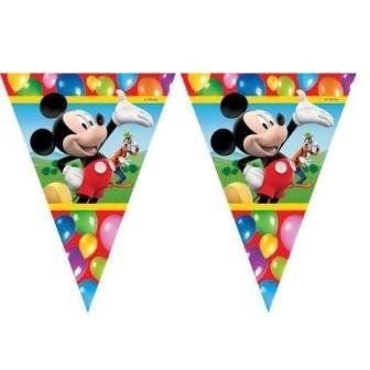 Billede af Mickey Mouse flag banner, Party